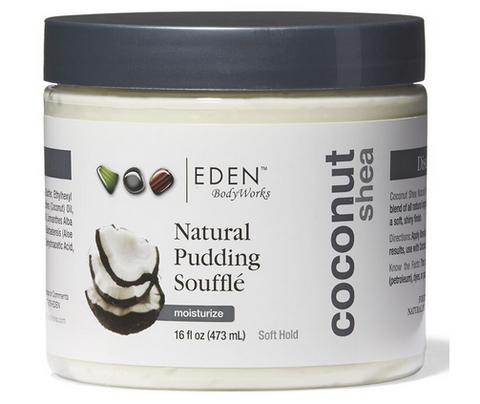 EDEN BodyWorks Coconut Shea Pudding Souffle, 16oz - Textured Tech
