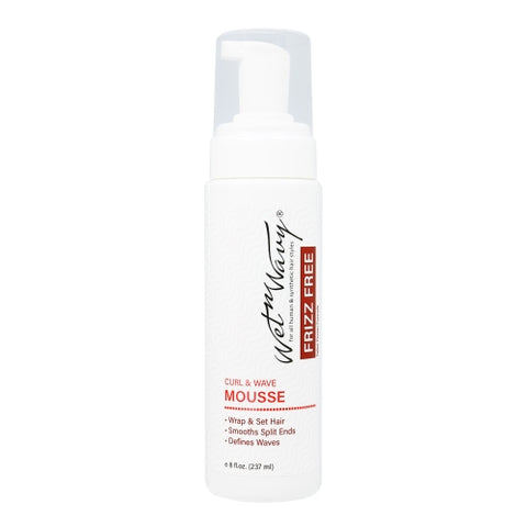 WET-N-WAVY CURL FOAM MOUSSE 8 OZ - Textured Tech