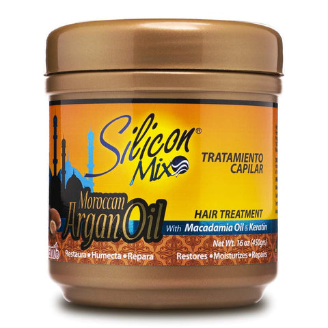 SILICON MIX ARGAN OIL TREAT 16Z - Textured Tech