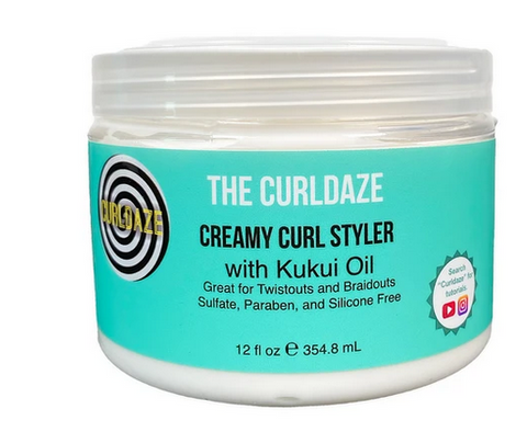 Curldaze Creamy Curl Styler with Kukui Oil - Textured Tech