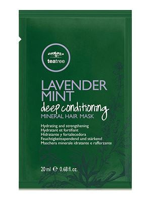 Tea Tree Lavender Mint Deep Conditioning Mineral Hair Mask 6-Pack - Textured Tech