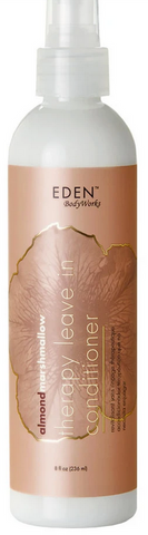 EDEN ALMOND MARSHMALLOW THERAPY LEAVE-IN CONDITIONER 8oz - Textured Tech