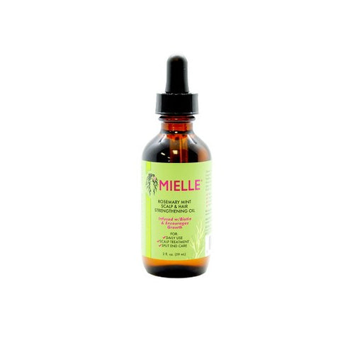 MIELLE ROSEMARY MINT SCALP& HAIR STRENGTHENING OIL - Textured Tech