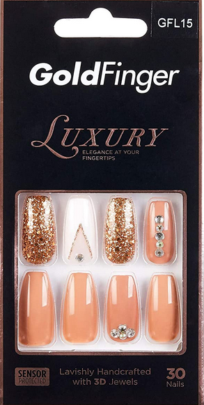 GOLDFINGER LUXURY NAIL GLF15