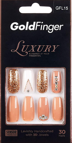 GOLDFINGER LUXURY NAIL GLF15 - Textured Tech