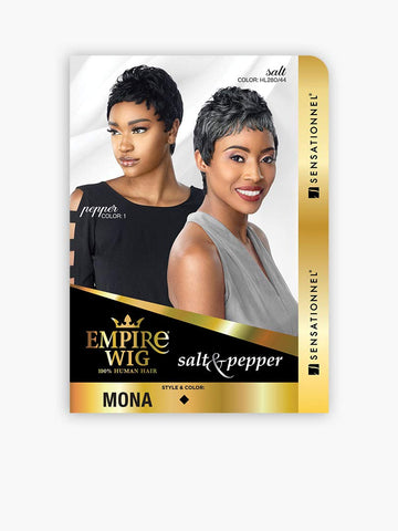 SENSATIONNEL EMPIRE HUMAN HAIR WIG MONA - Textured Tech