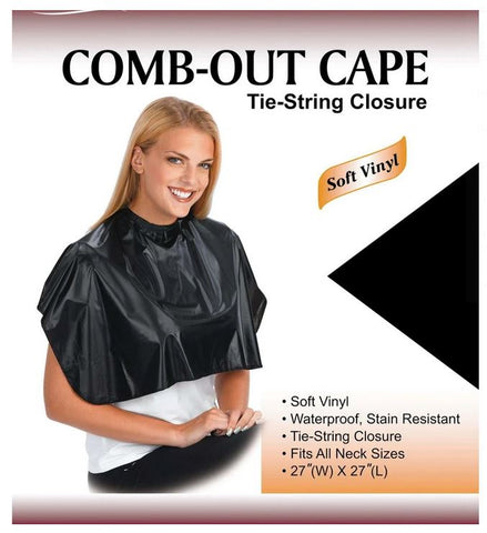 ANNIE COMB OUT CAPE TIE CLOSURE - Textured Tech