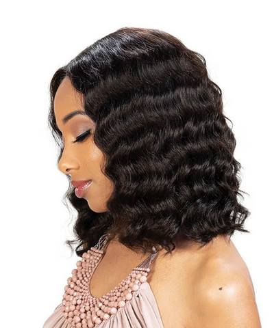 Zury Sis 100% Brazilian Virgin Unprocessed Human Hair Wig - Textured Tech