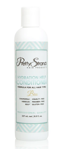 PRETTY STRANDS HYDRATION HELP CONDITIONER 8oz - Textured Tech