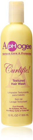 APHOGEE CURLIFIC TEXTURE HAIR WASH 12OZ - Textured Tech