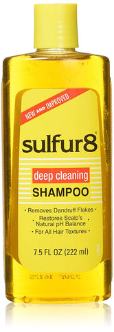 SULFUR 8 SHAMPOO 7.5OZ - Textured Tech