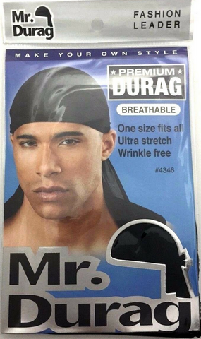 MR.DURAG BREATHABLE DURAG - Textured Tech