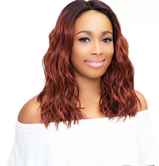 JANET COLLECTION LEONA LACEFRONT SYNTHETIC WIG