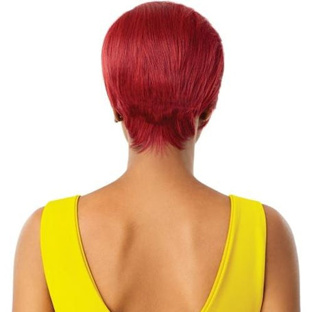 THE DAILY WIG LACE PART PIXIE WIG - ELISE - Textured Tech