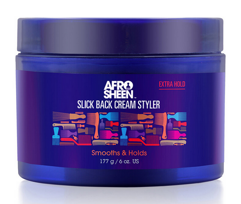 AFRO SHEEN SLICK BACK CREAM STYLER 6oz - Textured Tech