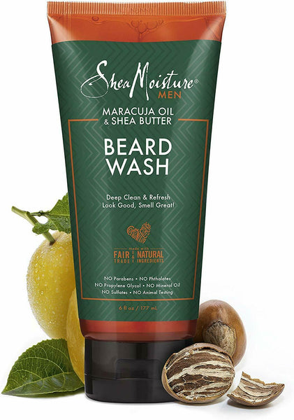 Shea Moisture Beard Wash 6 oz