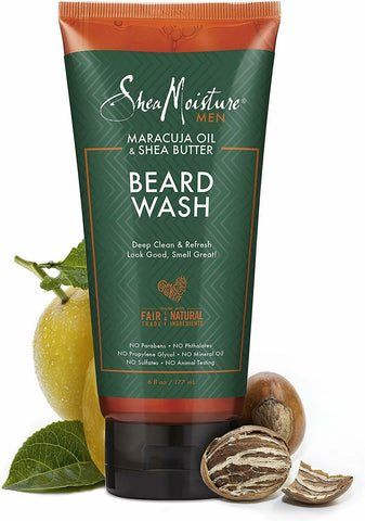 Shea Moisture Beard Wash 6 oz - Textured Tech