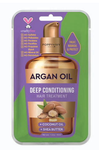 ABSOLUTE NEW YORK ARGAN OIL DEEP CONDITIONING HAIR TREATMENT - Textured Tech