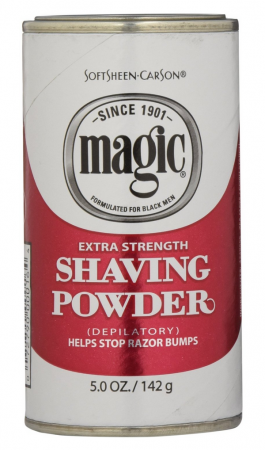 MAGIC SHAVE POWDER RED 5 OZ - Textured Tech