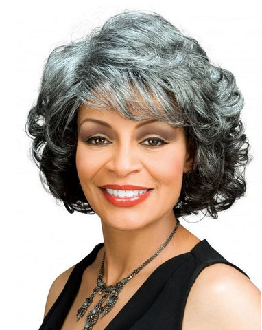 Foxy Silver Collection Lace Wig Barbara - Textured Tech