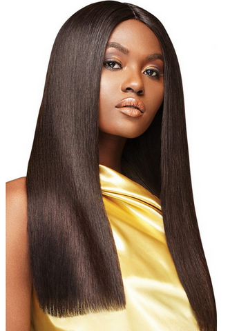 OUTRE MY TRESSES GOLD LABEL 100% HUMAN HAIR BUNDLES #NATURAL STRAIGHT - Textured Tech