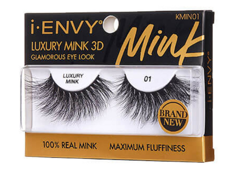 iENVY LUXURY MINK 3D LASHES - Textured Tech