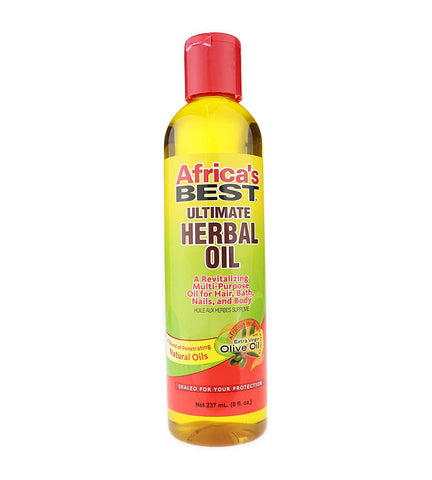 AFRICAS BEST ULTIMATE HERBAL OIL - Textured Tech