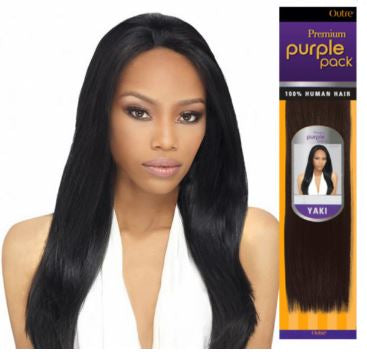 OUTRE PREMIUM PURPLE PACK YAKI HUMAN HAIR - Textured Tech