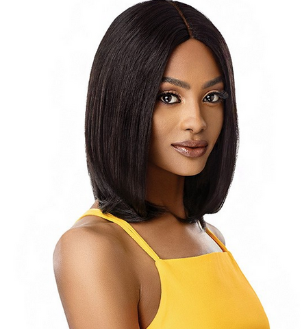 "THE DAILY WIG HUMAN HAIR LAYERED BOB 16"" - Textured Tech"