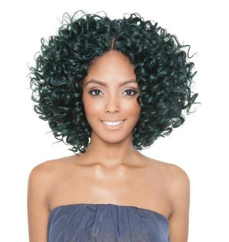 "BRAZILIAN OMBRE SYNTHETIC BLEND ""SUPER TONI CURL"" 4PC - Textured Tech"