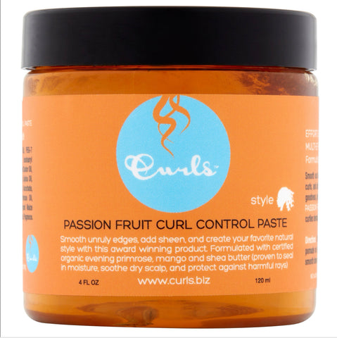CURLS PASSION FRUIT CONTROL PASTE 4oz - Textured Tech
