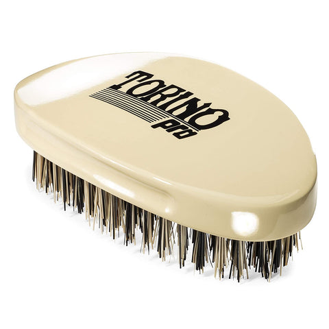 Torino Pro Wave Brush #1510 Hard Curved,Hard Palm/Military 360 Waves Brush