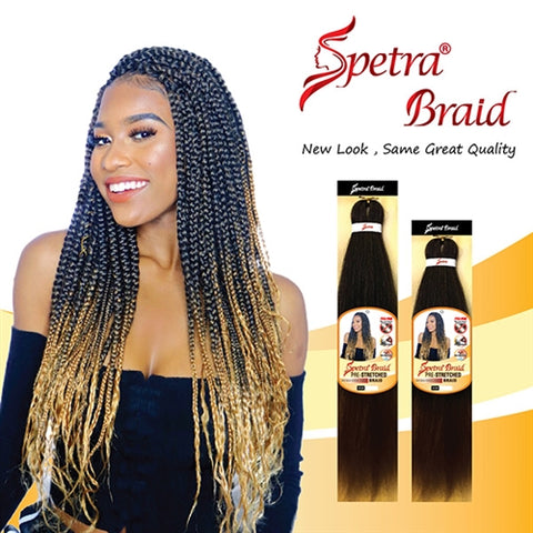 "EZ BRAID PRE-STRETCHED HAIR 26"" ANTI-BACTERIAL SINGLE PACK - Textured Tech"
