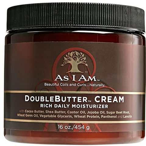 AS I AM DOUBLE BUTTER CREAM 16oz - Textured Tech