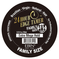 EBIN EXTRA MEGA HOLD 24 HR EDGE TAMER 8.25 OZ - Textured Tech