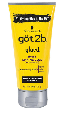 GOT2B GLUED SPIKING GLUE 6OZ - Textured Tech