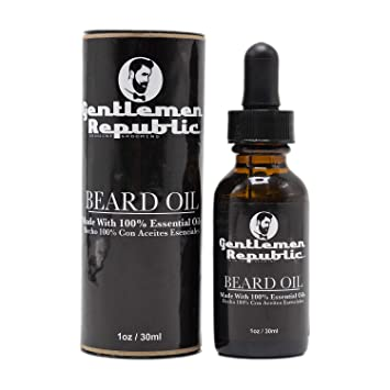 Gentlemen Republic Beard Oil 1oz - Textured Tech