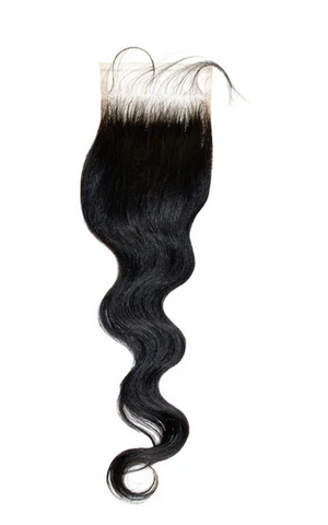 HD SWISS LACE CLOSURE 4X5 BODY WAVE - Textured Tech