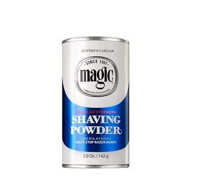 MAGIC SHAVING POWDER - REGULAR STRENGTH 5 OZ - Textured Tech
