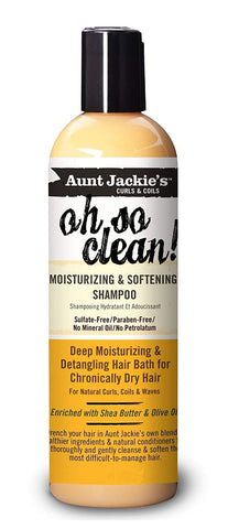 Aunt Jackie's oh so clean! Shampoo 12OZ - Textured Tech