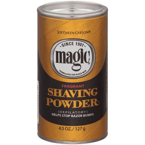 MAGIC SHAVING POWDER - FRAGRANT 4.5 OZ - Textured Tech