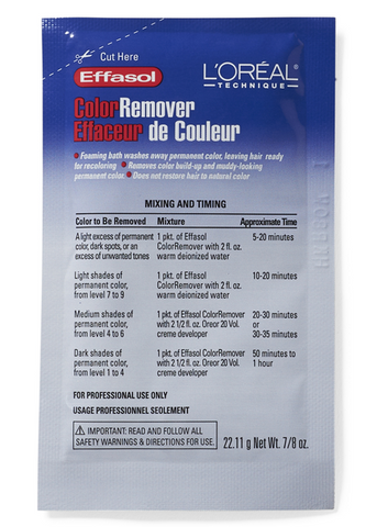 L'OREAL TECHNIQUE COLOR REMOVER - Textured Tech