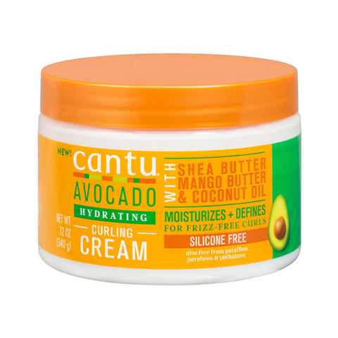 CANTU AVOCADO HYDRATING CURLING CREAM - Textured Tech