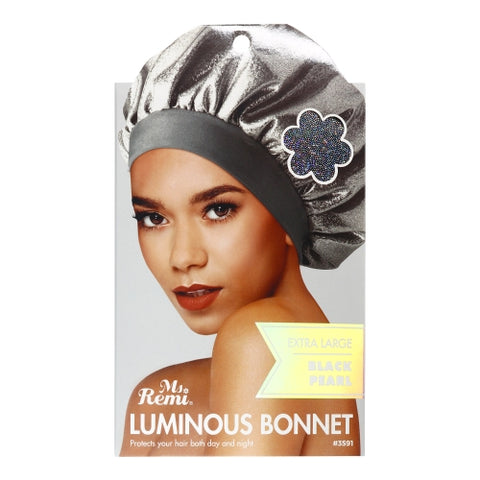 Ms Remi Luminous Bonnet Black Pearl #3591 - Textured Tech