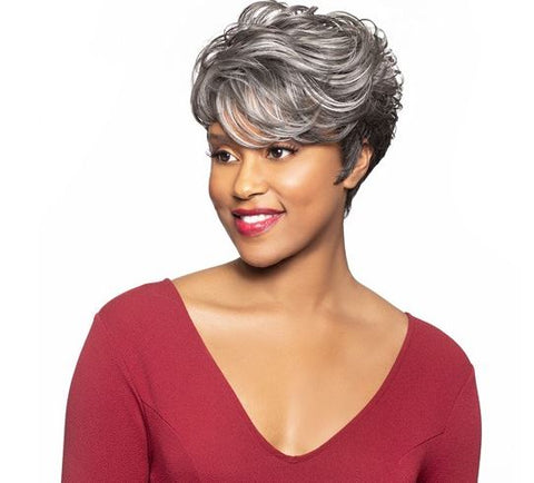 Foxy Silver Collection Lace Wig Gwendolyn - Textured Tech