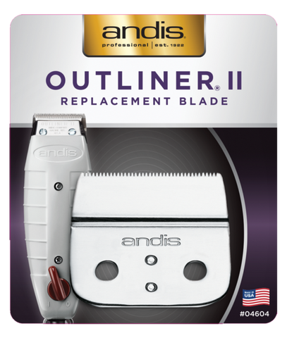ANDIS T-OUTLINER II REPLACEMENT BLADE II 0.1mm