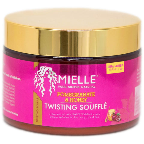 Mielle Pom/Honey Twst Souffle 12 oz - Textured Tech