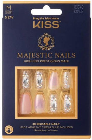 Kiss Majestic Nails - Textured Tech