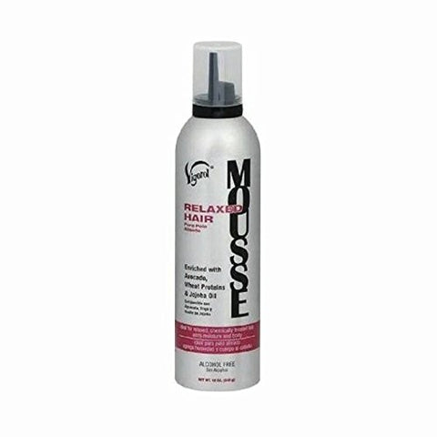VIGOROL RELAXED HAIR MOUSSE 12oz - Textured Tech