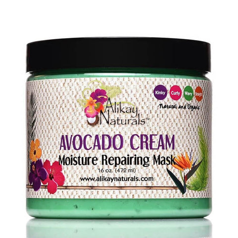 ALIKAY NATURALS AVOCADO CREAM MOISTURE REPAIRING MASK - Textured Tech